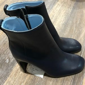 Women's Size 8 Rag & Bone Booties Boots Navy Blue